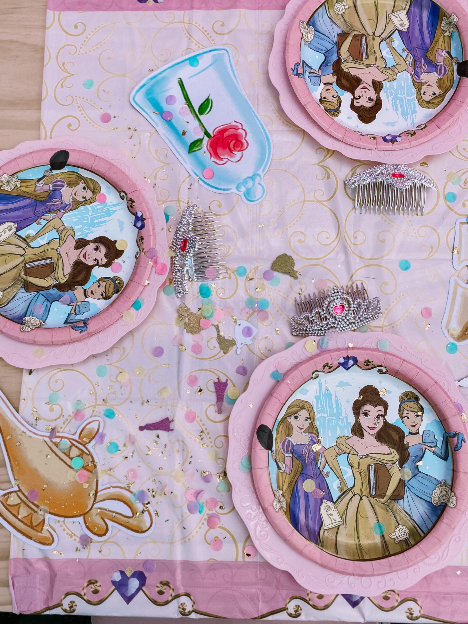 Disney Princess Party Tablescape
