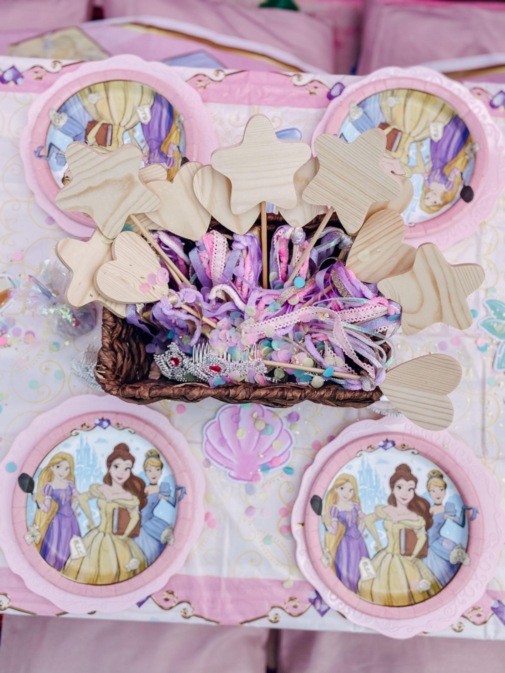 Disney Princess Party Picnic Table